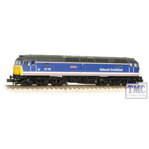 372-246 Graham Farish N Gauge Class 47/7 47715 Haymarket BR Network SouthEast