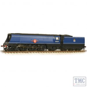 372-310 Graham Farish N Gauge SR Merchant Navy 35024 'East Asiatic Company' BR Express Blue (Early Emblem)