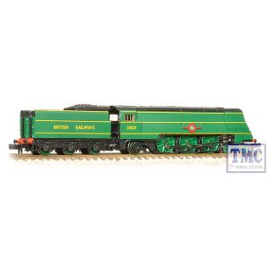 372-313 Graham Farish N Gauge Merchant Navy Class 35021 New Zealand Line BR Malachite