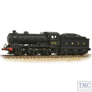 372-400A Graham Farish N Gauge LNER J39 with Stepped Tender 4761 LNER Black (LNER Original)