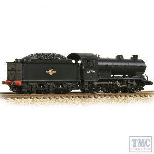 372-403A Graham Farish N Gauge LNER J39 with Stepped Tender 64739 BR Black (Late Crest)