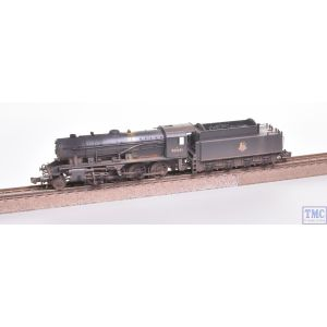 372-425A Graham Farish N Gauge WD Austerity 90441 BR Black (Early Emblem) - Weathered
