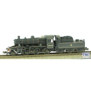 372-629 Graham Farish N Gauge Ivatt Class 2MT 2-6-0 46460 BR E/Emb Real Coal Weathered by TMC