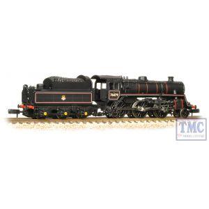 372-653 Graham Farish N Gauge BR Standard Class 4MT 76079 BR Lined Black Early Emblem