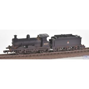 372-777 Graham Farish N Gauge SE&CR C Class 31227 BR Black Early Emblem