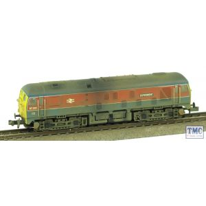 372-980 Graham Farish N Gauge Class 24 97201 Experiment RTC Livery Weathered by TMC