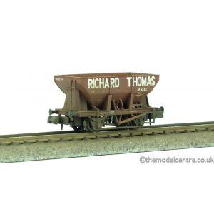 373-217 Graham Farish N Gauge 24 Ton Ore Hopper Wagon Richard Thomas Weathered by TMC