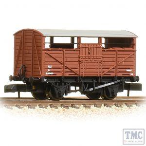 373-262B Graham Farish N Gauge 8T Ale Wagon BR Bauxite (Early)