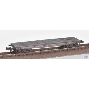 373-351 Graham Farish N Gauge WD 40T 'Parrot' Bogie Wagon LMS Grey