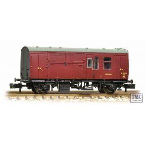 373-361 Graham Farish N Gauge BR Mk1 Horse Box Maroon (Discontinued)