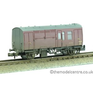 373-361 Graham Farish N Gauge BR Mk1 Horse Box Maroon Weathered by TMC