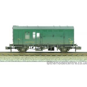 373-362 Graham Farish N Gauge BR Mk1 Horse Box (SR) Green Weathered by TMC