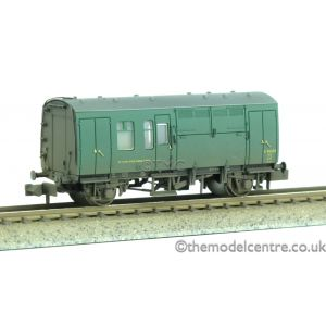 373-362 Graham Farish N Gauge BR Mk1 Horse Box (SR) Green Weathered by TMC