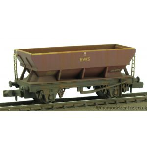 373-505D Graham Farish N Gauge 46 Tonne glw HEA Hopper Wagon EWS Weathered by TMC