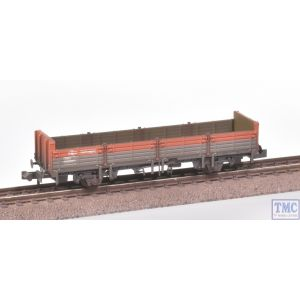 373-626D Graham Farish N Gauge 31 Ton OBA Open Wagon Railfreight Red & Grey Weathered by TMC