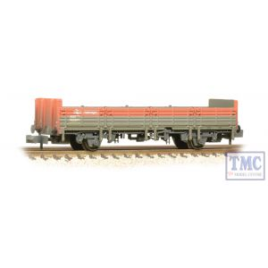 373-626D Graham Farish N Gauge 31 Ton OBA Open Wagon Railfreight Red & Grey Weathered