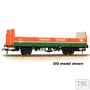 373-627D Graham Farish N Gauge BR OBA Open Wagon High Ends BR Plasmor Blockfreight