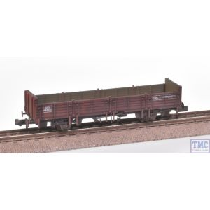 373-629 Graham Farish N Gauge 31 Ton OBA Open Wagon Railfreight Brown with Extra Detail Weathering by TMC