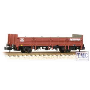 373-629 Graham Farish N Gauge 31 Ton OBA Open Wagon Railfreight Brown