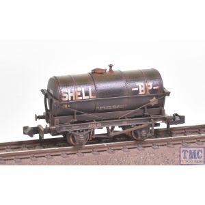 373-656 Graham Farish N Gauge 14T Tank Wagon 'Shell BP' Black