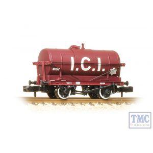 373-682 Graham Farish N Gauge 14 Ton Tank Wagon ICI Maroon