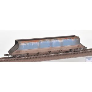 373-812 Graham Farish N Gauge HKA Bogie Hopper Debranded 'National Power' Blue - Weathered