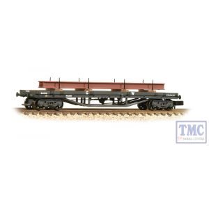 373-927B Graham Farish N Gauge 30 Ton Bogie Bolster Wagon GWR Grey