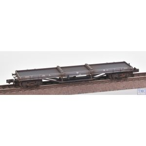 373-929 Graham Farish N Gauge 30T Bogie Bolster LMS Grey - Includes Wagon Load