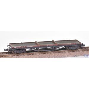 373-930 Graham Farish N Gauge 30T Bogie Bolster C BR Bauxite (Late) - Weathered