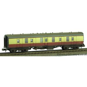 374-035 Graham Farish N Gauge BR Mk1 BG Full Brake Crimson & Cream Weathered by TMC