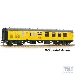 374-089 Graham Farish N Gauge BR Mk1 BCK Brake Composite Corridor Network Rail Yellow