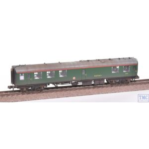 374-108A Graham Farish N Gauge Mk1 RMB Mini Buffet Car BR(SR) Green Weathered by TMC
