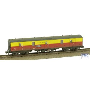 374-135 Graham Farish N Gauge BR Mk1 GUV Satlink Weathered by TMC