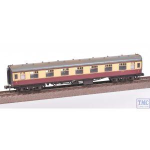 374-160A Graham Farish N Gauge BR Mk1 FK First Corridor Coach BR Crimson & Cream Weathered by TMC