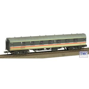 374-165 Graham Farish N Gauge BR MK1 FK First Corridor Intercity Weathered by TMC