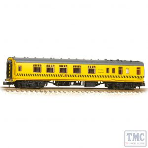 374-191 Graham Farish N Gauge BR Mk1 BCK Brake Composite Corridor BR Departmental Yellow