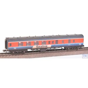 374-196 Graham Farish N Gauge BR Mk1 BSK Brake Second Corridor BR Sealink