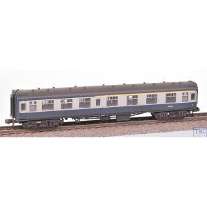 374-258C Graham Farish N Gauge BR Mk1 CK Composite Corridor BR Blue & Grey
