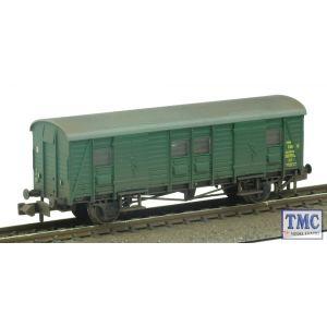 374-416 Graham Farish N Gauge Southern PL Passenger Luggage Van BR (SR) Green Weathered by TMC