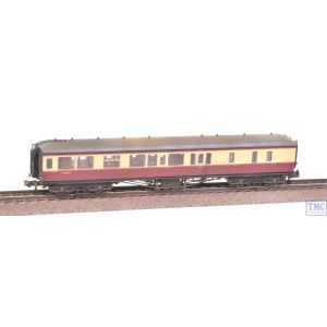 374-510 Graham Farish N Gauge Hawksworth Brake 3rd Class Corridor Coach BR Crimson & Cream Weathered by TMC