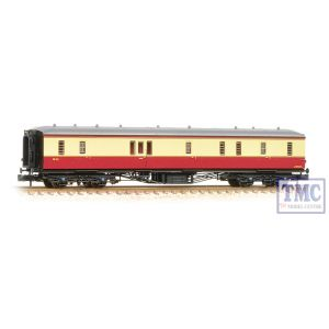 374-585 Graham Farish N Gauge Hawksworth Full Brake BR Crimson & Cream