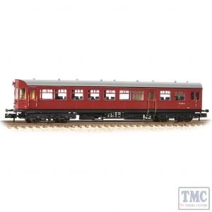 374-612 Graham Farish N Gauge GWR Hawksworth Auto-Trailer BR Crimson