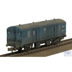 374-640 Graham Farish N Gauge BR MK 1 CCT BR Blue Weathered by TMC