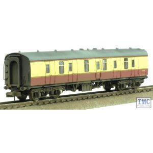 374-035A Graham Farish N Gauge BR Mk1 BG Full Brake Coach Crimson & Cream Weathered by TMC