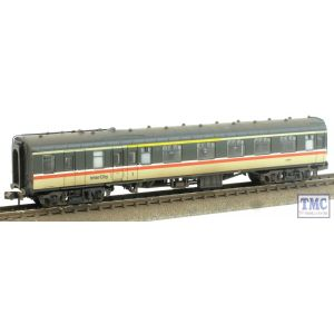 374-087 Graham Farish N Gauge BR Mk1 BCK Brake Corridor Composite Coach Intercity Weathered by TMC