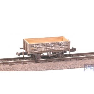 377-031 Graham Farish N Gauge 5 Plank Wagon Steel Floor ICI Lime Extra Detail Weathering by TMC