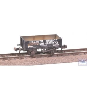 377-032 Graham Farish N Gauge 5 Plank Wagon Helwith Bridge Road Stone Quarry Extra Detail Weathering by TMC