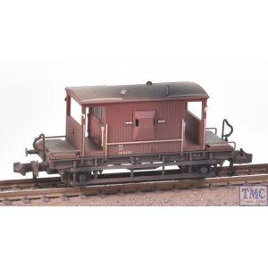 377-527C Graham Farish N Gauge LNER 20T Brake Van LNER Bauxite