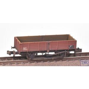 377-777 Graham Farish N Gauge 12 Ton Pipe Wagon BR Bauxite (Late)