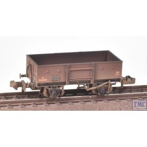 377-955 Graham Farish N Gauge LNER 13T Steel Open With Chain Pockets BR Bauxite (Early) - Weathered